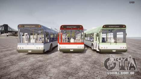 GTA 5 Bus v2 para GTA 4 vista superior