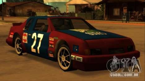 Beta Hotring Racer para GTA San Andreas vista direita