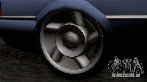 Primo GT para GTA San Andreas traseira esquerda vista