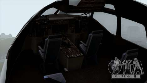 C-17A Globemaster III USAF McGuire para GTA San Andreas vista traseira