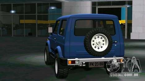 Suzuki Samurai para GTA San Andreas vista direita
