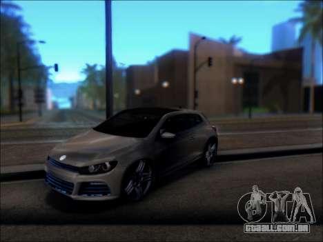Volkswagen Scirocco Tunable para GTA San Andreas vista direita