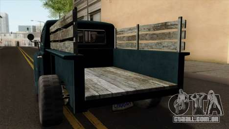 GTA 5 Bravado Rat-Loader para GTA San Andreas vista traseira