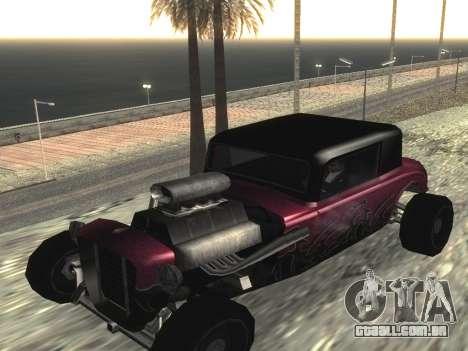 Atualizado Hotknife para GTA San Andreas esquerda vista