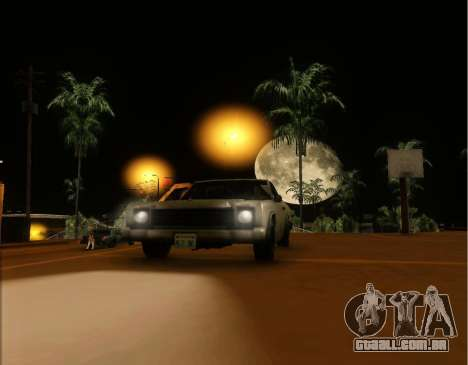 ENB Gentile v2.0 para GTA San Andreas por diante tela