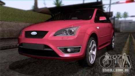 Ford Focus ST Tunable para GTA San Andreas