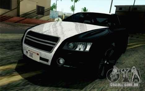 GTA 5 Karin Kuruma v2 SA Mobile para GTA San Andreas