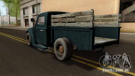 GTA 5 Bravado Rat-Loader para GTA San Andreas esquerda vista