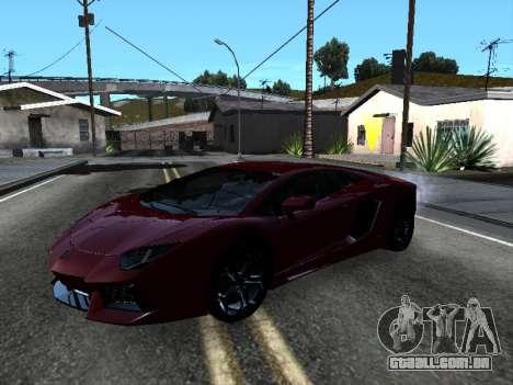 Lamborghini Aventador Tron para o motor de GTA San Andreas