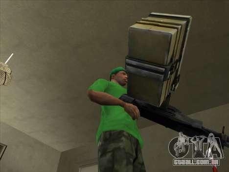 CABO de Battlefield 3 para GTA San Andreas segunda tela