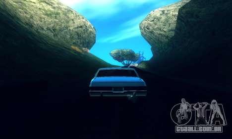 ENB Series para baixa e Média PC para GTA San Andreas terceira tela