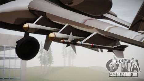 A-10A The Idolmaster -SP- para GTA San Andreas vista direita