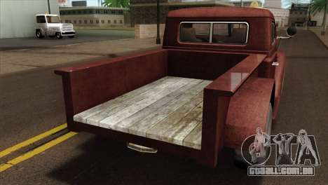 GTA 5 Bravado Rat-Loader IVF para GTA San Andreas vista traseira