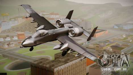 A-10A The Idolmaster -SP- para GTA San Andreas