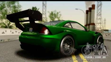 GTA 5 Benefactor Feltzer SA Mobile para GTA San Andreas esquerda vista