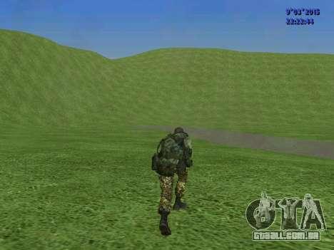 Um lutador de Esparta batalhão para GTA San Andreas sexta tela