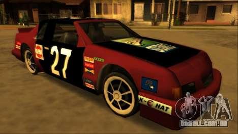 Beta Hotring Racer para GTA San Andreas traseira esquerda vista