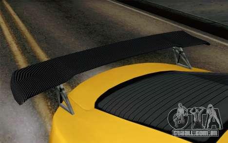 GTA 5 Dewbauchee Exemplar para GTA San Andreas vista direita