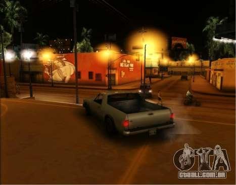 ENB Gentile v2.0 para GTA San Andreas quinto tela