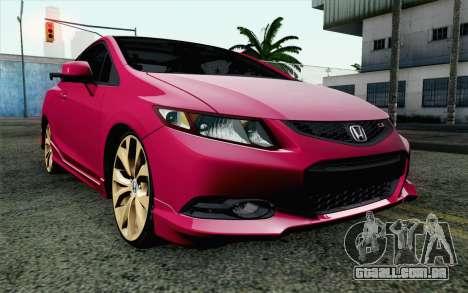 Honda Civic SI 2013 para GTA San Andreas