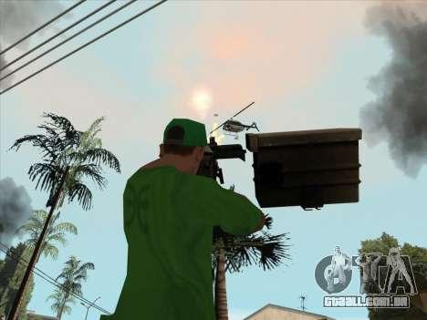 CABO de Battlefield 3 para GTA San Andreas sexta tela