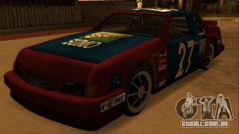 Beta Hotring Racer para GTA San Andreas vista traseira