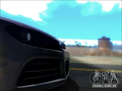 Volkswagen Scirocco Tunable para GTA San Andreas vista superior