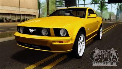 Ford Mustang GT Wheels 1 para GTA San Andreas