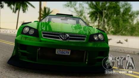 GTA 5 Benefactor Feltzer SA Mobile para GTA San Andreas traseira esquerda vista