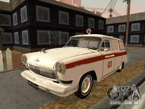 GÁS de 22 de ambulância para GTA San Andreas