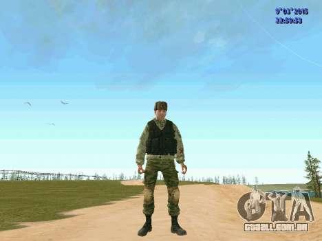 Guerreiro batalhão de Espírito para GTA San Andreas
