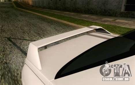 BMW M3 E30 2015 para GTA San Andreas vista traseira