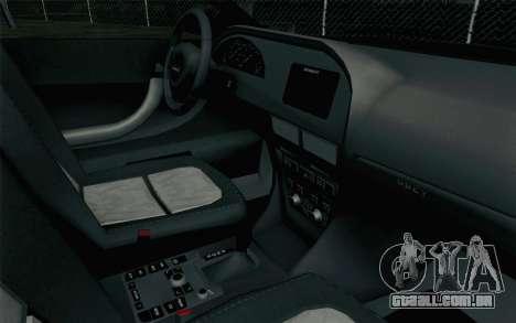 GTA 5 Karin Kuruma v2 para GTA San Andreas vista direita