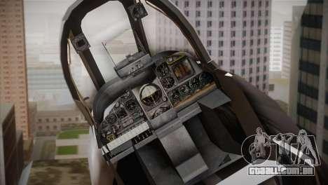 A-10A The Idolmaster -SP- para GTA San Andreas vista traseira