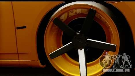 Dodge Charger SRT8 2006 Tuning para GTA San Andreas vista traseira