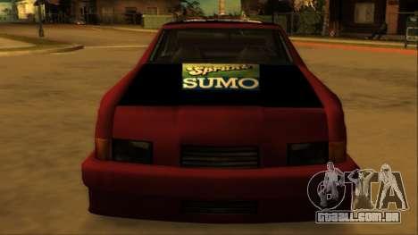 Beta Hotring Racer para vista lateral GTA San Andreas