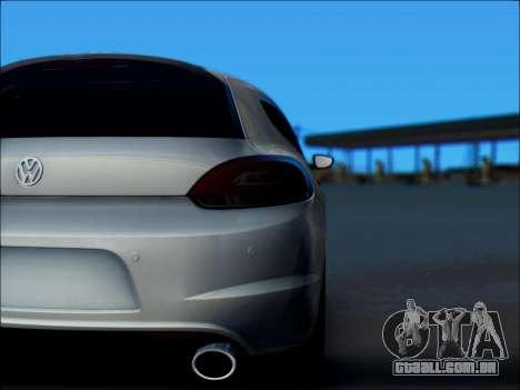 Volkswagen Scirocco Tunable para vista lateral GTA San Andreas