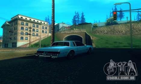 ENB Series para baixa e Média PC para GTA San Andreas segunda tela