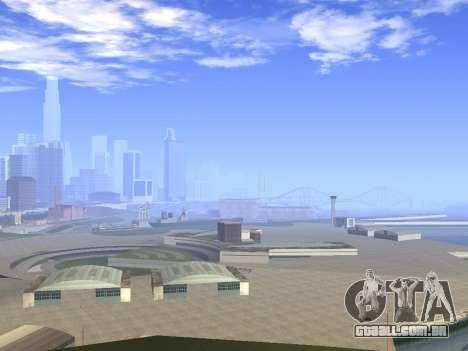Beautiful Timecyc para GTA San Andreas terceira tela