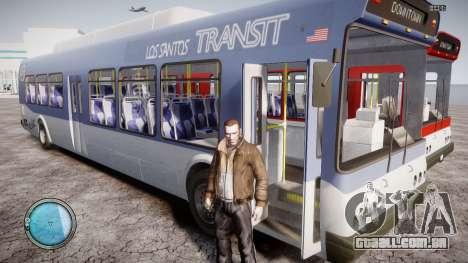 GTA 5 Bus v2 para GTA 4 vista lateral