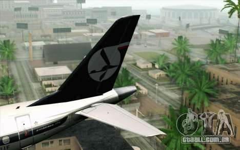 Embraer EMB-175 LOT Polish Airlines para GTA San Andreas traseira esquerda vista