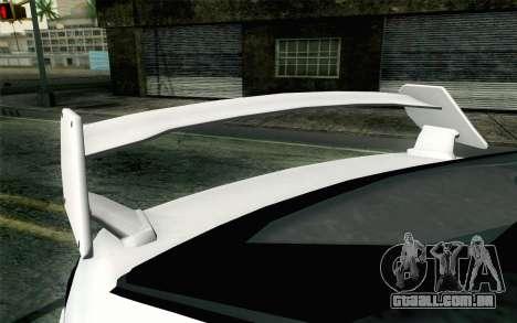 GTA 5 Karin Kuruma v2 Armored para GTA San Andreas vista direita