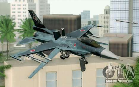 F-2A Viper 60th Anniversary of JASDF para GTA San Andreas