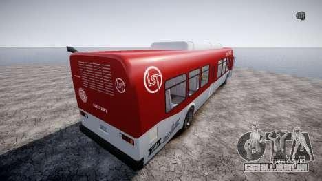 GTA 5 Bus v2 para GTA 4 vista direita