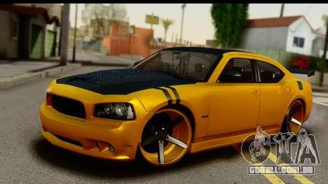 Dodge Charger SRT8 2006 Tuning para GTA San Andreas
