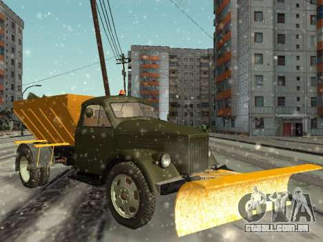 GÁS 51 snowblower para GTA San Andreas