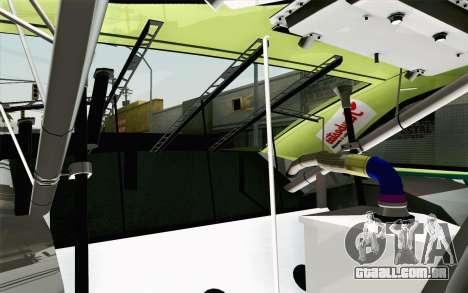 NASCAR Toyota Camry 2013 v4 para GTA San Andreas vista traseira