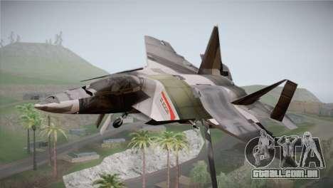 F-15 JASDF 50th Anniversary para GTA San Andreas