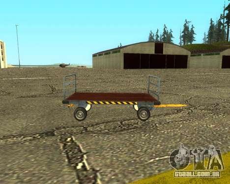 New Bagbox B para GTA San Andreas vista traseira