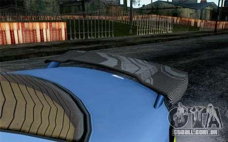 GTA 5 Ubermacht Sentinel XS SA Mobile para GTA San Andreas vista direita